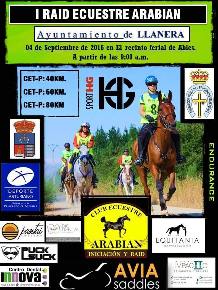 I Raid Ecuestre Arabian Asturias