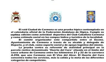 RAID DE CARMONA GISTORIA