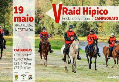 V Raid Hípico Festa do Salmón. Ctº Galego. La Estrada (Pontevedra).