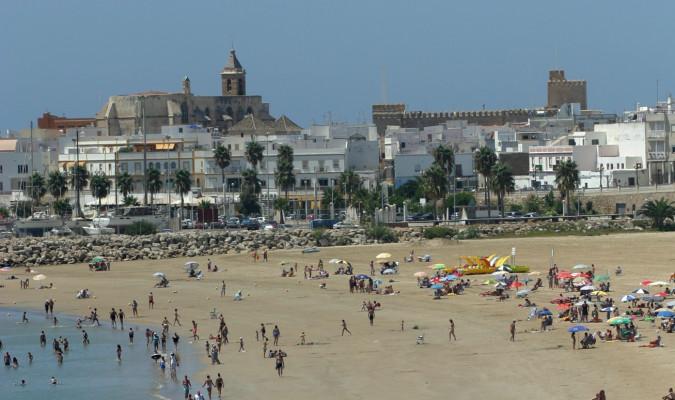 Raid Hípico SAMOCAB en Rota (Cádiz).