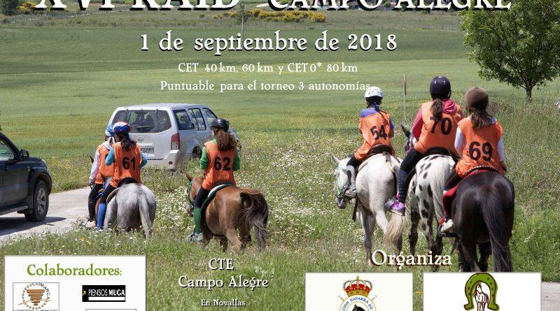 "XVI Raid Hípico ""Campo Alegre"" en Novallas (Zaragoza)."