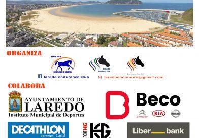 Inscritos en el I Raid Hípico Playa de Laredo (Cantabria).