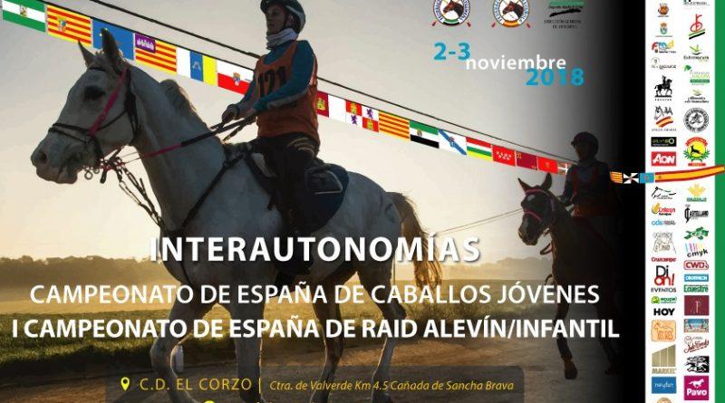 Copa Interautonomias de Raid y Copa Jóvenes Caballos de Raid.