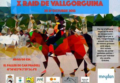 Inscritos en el X Raid Hípico Vallgorguina (Barcelona).