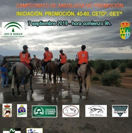Avance del programa del VII Raid Hípico de Zujaira y Casanueva (Granada).