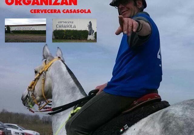 I Raid Hípico Casasola en Renedo de Esgueva (Valladolid).
