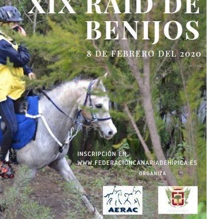 XIX Raid Hípico Copa Villa de la Orotava en Benijos (Tenerife).