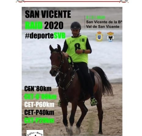 I Raid Hípico San Vicente de la Barquera (Cantabria).