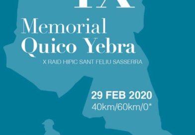 Admitidos en el X Raid Hípico Sant Feliu Sasserra y IX Memorial Quico Yebra. (Barcelona).
