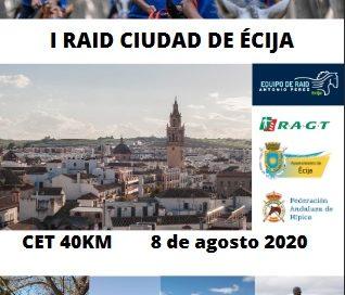 Inscritos en el I Raid Hípico Ciudad de Ecija (Sevilla).