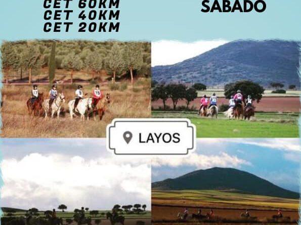II Raid Hípico de LAYOS (Toledo).